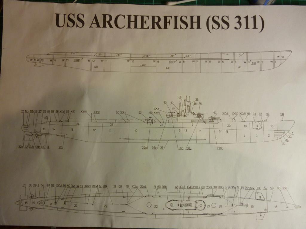 USS Archerfish, Halinski 1/200 gebaut von Wastel P1000711