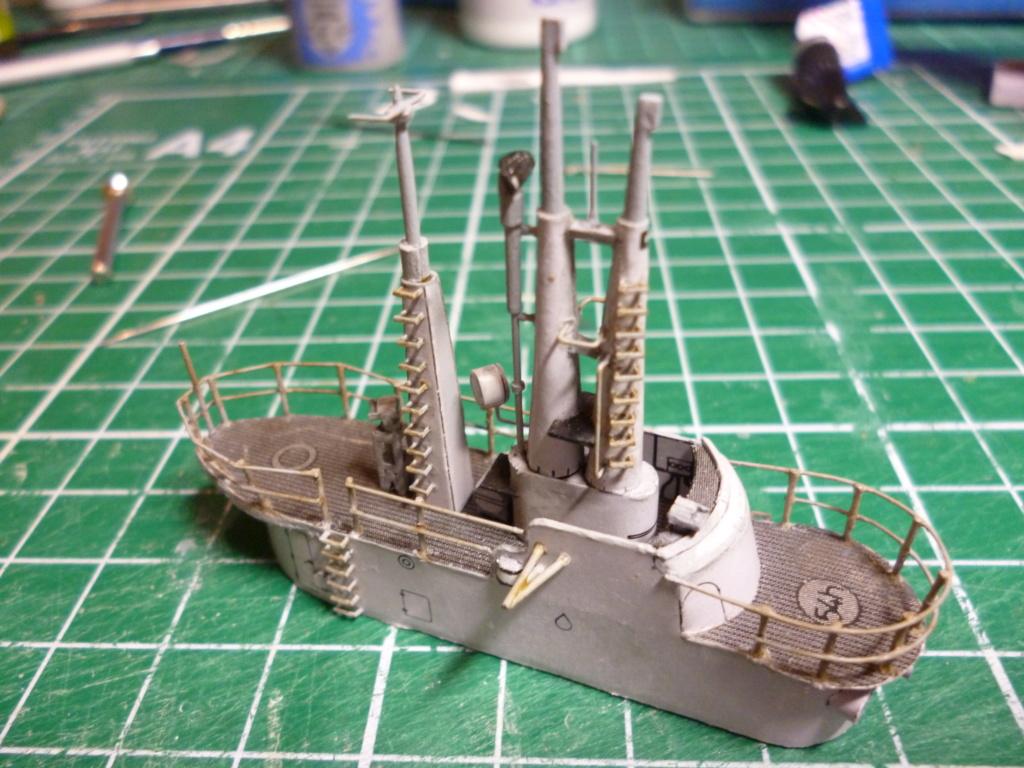 USS Archerfish, Halinski 1/200 gebaut von Wastel P1000715