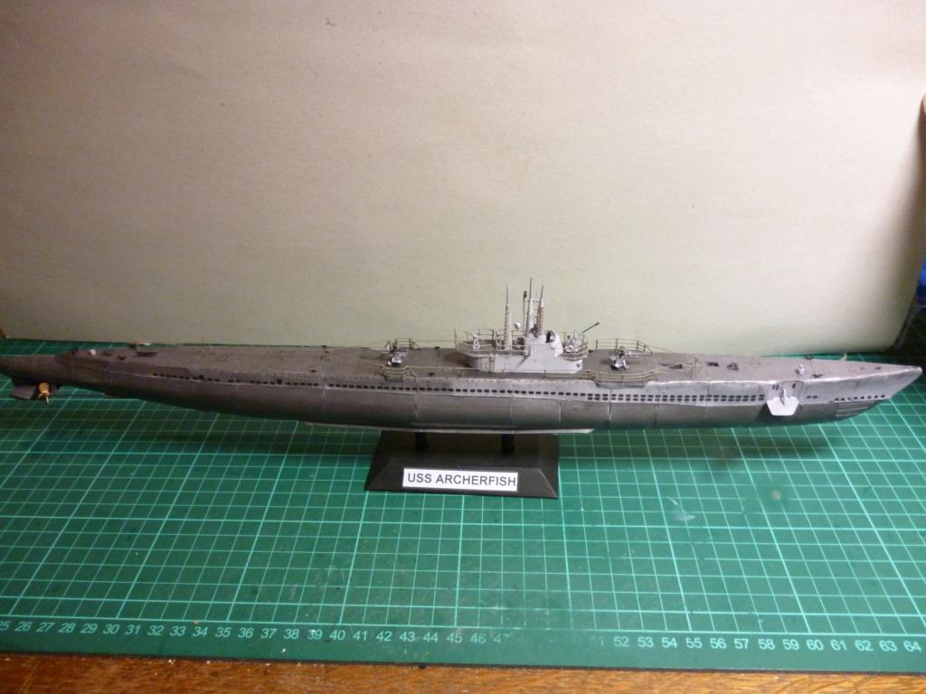 USS Archerfish, Halinski 1/200 gebaut von Wastel P1000719