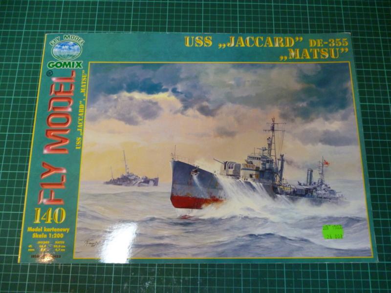 USS Jaccard DE-355, 1:200, FLY Modell, geb. von Wastel P1000929