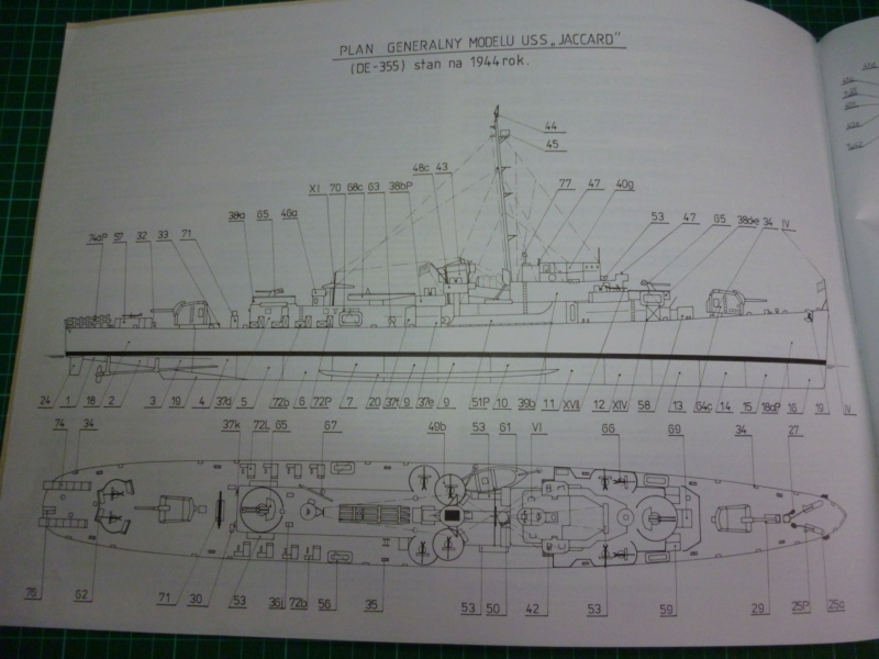 USS Jaccard DE-355, 1:200, FLY Modell, geb. von Wastel P1000930