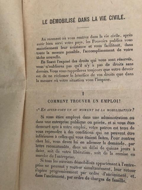 Guide du démobilisé dans la vie civile 1919 Img_7039