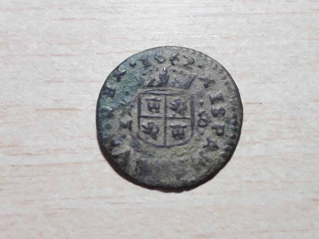 8 maravedis de Felipe IV de 1662, Trujillo. 20180925