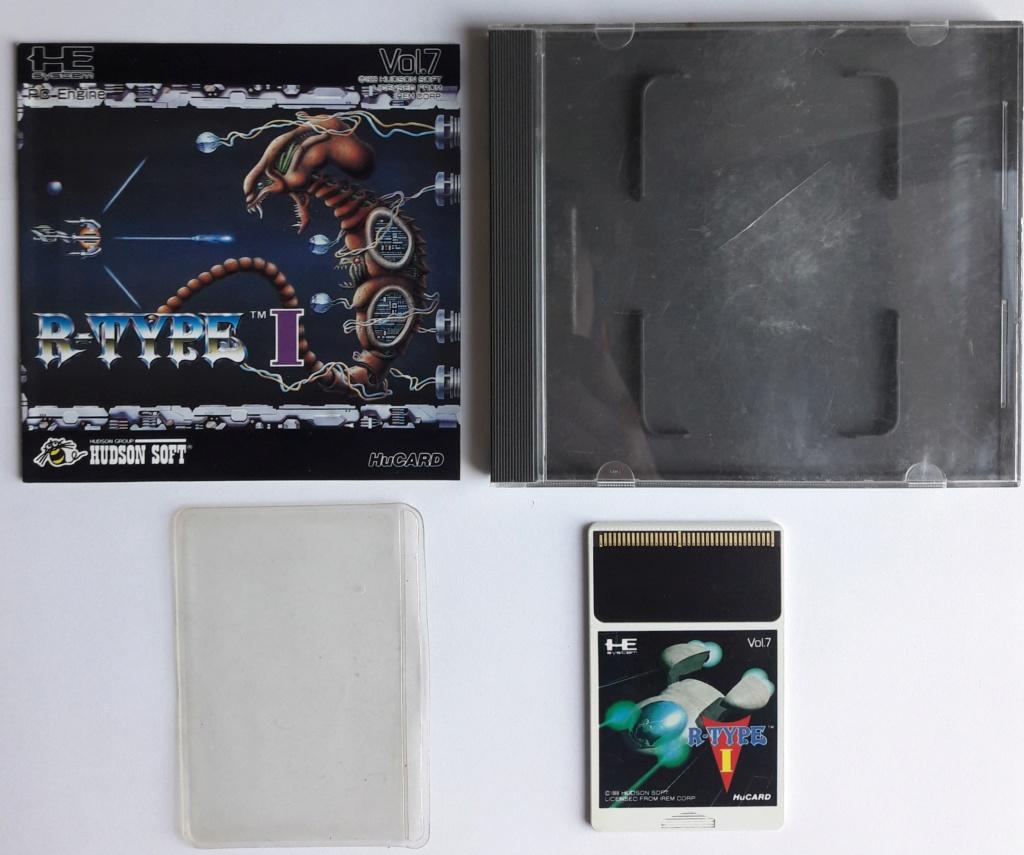 [VDS] NEC / PCE Arcade Card Pro et R-Type 1 20200325