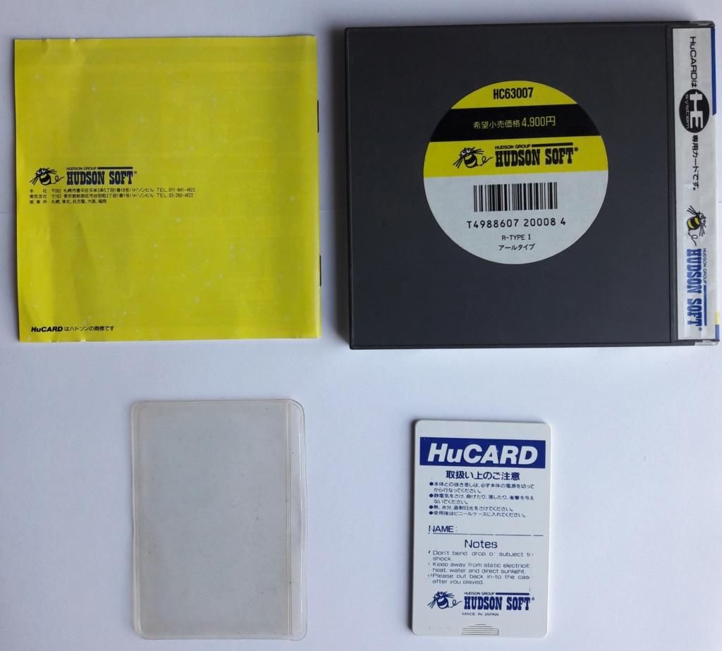 [VDS] NEC / PCE Arcade Card Pro et R-Type 1 20200326