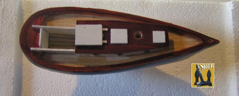 """cotre américain  1939 le """"CLAIRE  D"""" en bateau moule 12a13"""
