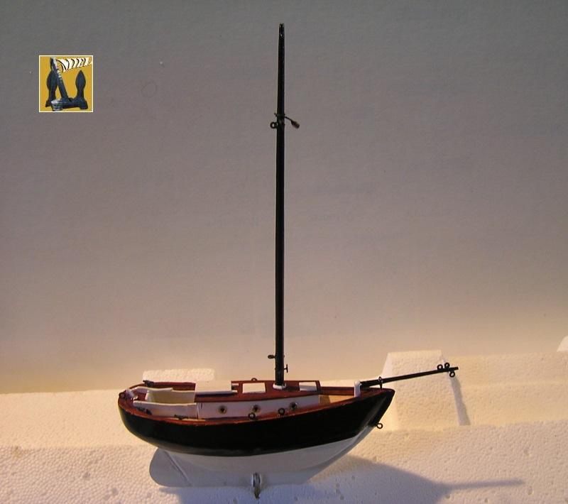 """cotre américain  1939 le """"CLAIRE  D"""" en bateau moule 1711"""