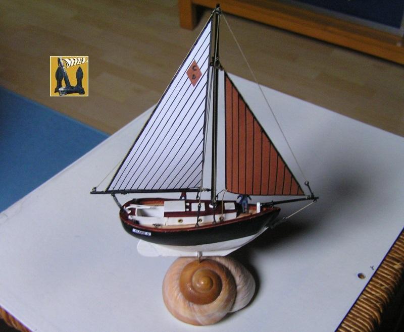 """cotre américain  1939 le """"CLAIRE  D"""" en bateau moule 1811"""