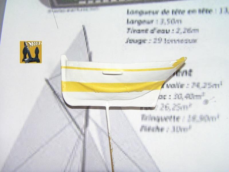 Le St Michel II cotre de Jules Verne en bareau-moule Ech: 1/1350 ème 1814
