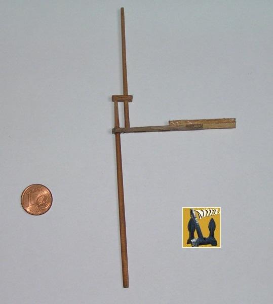 Le St Michel II cotre de Jules Verne en bareau-moule Ech: 1/1350 ème 3510