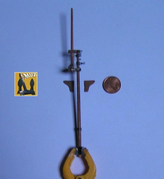 Le St Michel II cotre de Jules Verne en bareau-moule Ech: 1/1350 ème 3610