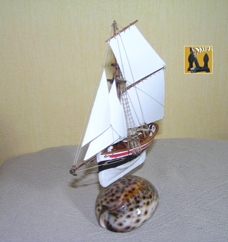 Le St Michel II cotre de Jules Verne en bareau-moule Ech: 1/1350 ème 4910