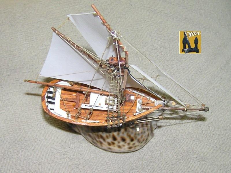Le St Michel II cotre de Jules Verne en bareau-moule Ech: 1/1350 ème 5010