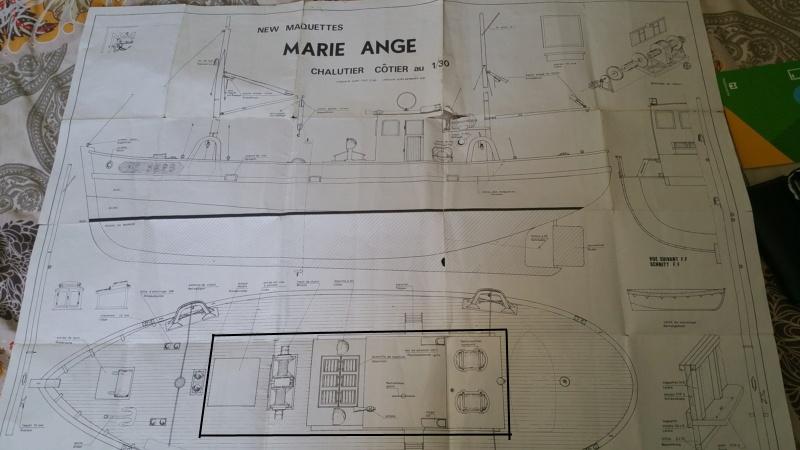 Rénovation et motorisation  d'une Marie-Ange de New Maquette Az10