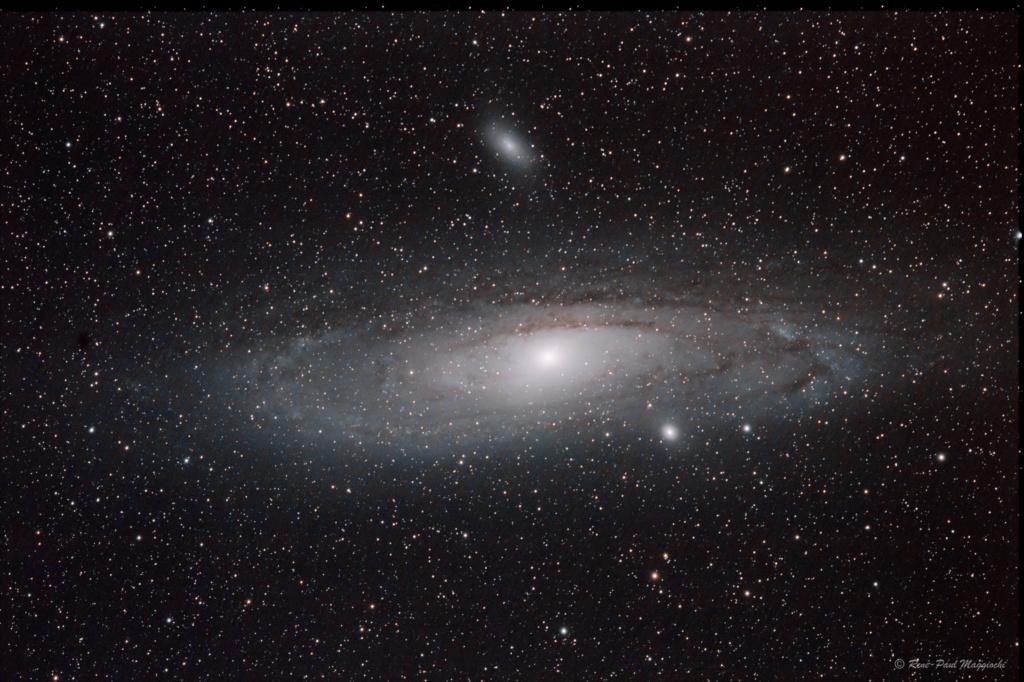 M31, la galaxie d'Andromède M31_li10
