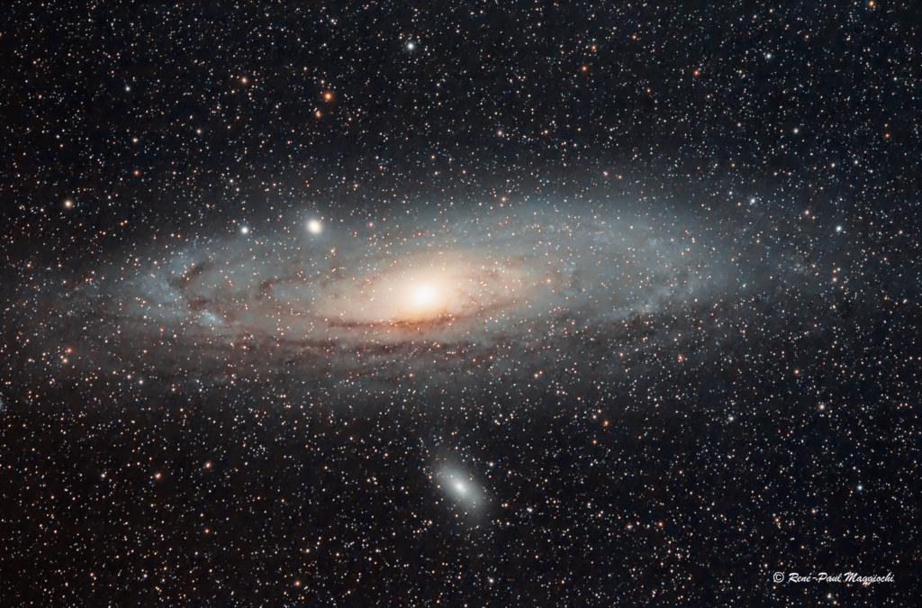 M31, la galaxie d'Andromède M31okl10