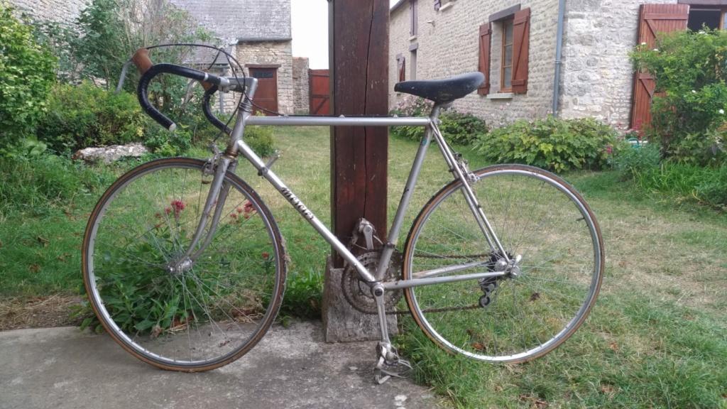 Identification vélo de course Mercier Whatsa20