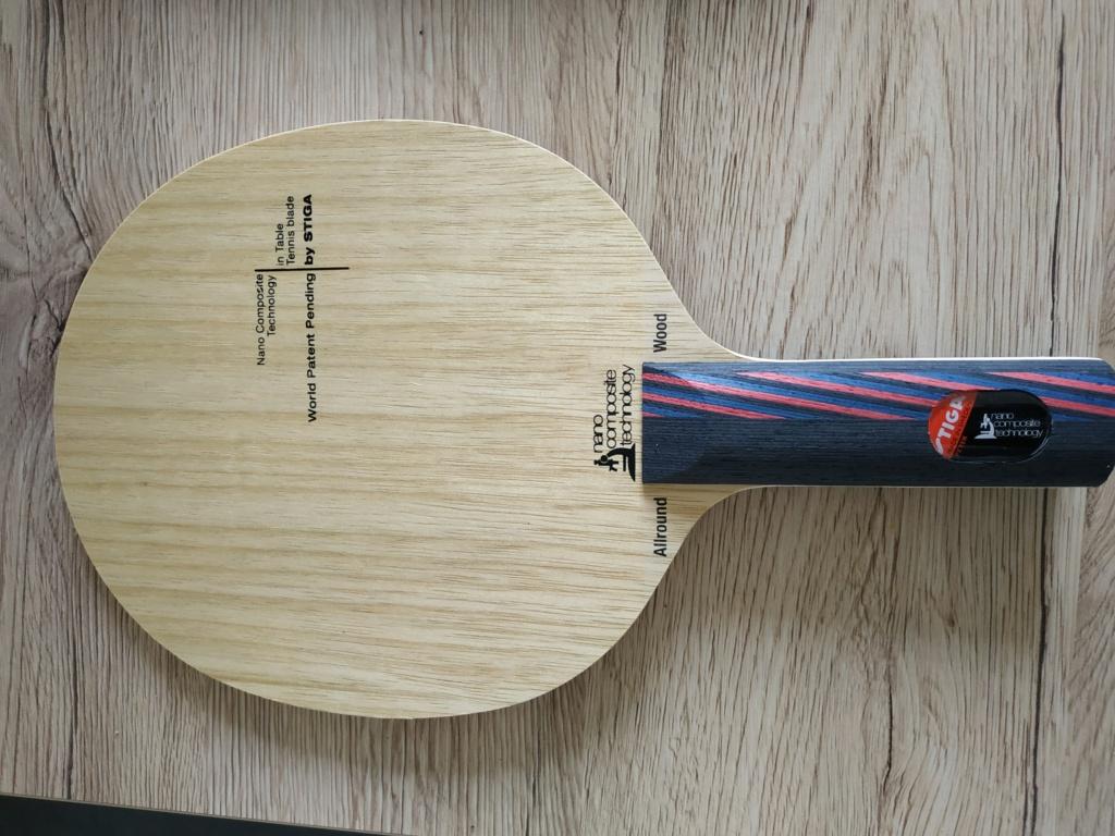 Stiga allround Wood NCT coniques et droits neufs Img_2186