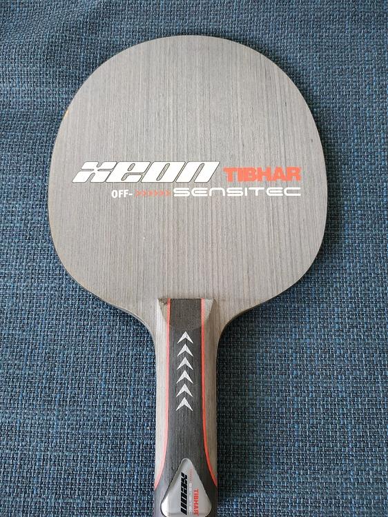 Tibhar Xeon Sensitec + Tibhar Samsonov Force Pro Xa10