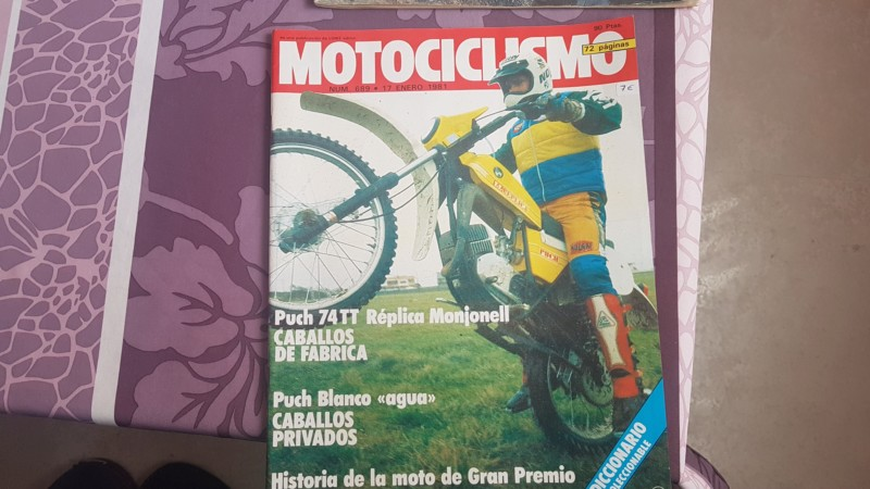 Revista solomoto 1977 y motociclismo 1981 20191116