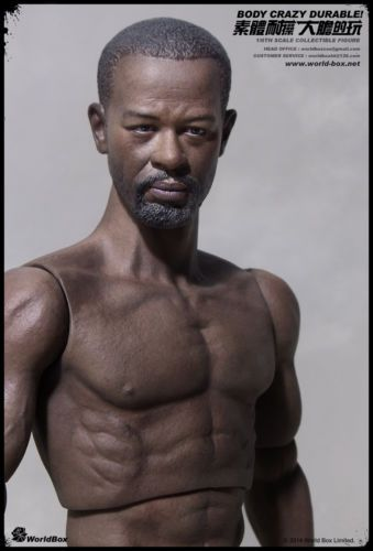 AfricanAmerican - NEW PRODUCT: TBLeague 1/6th Super-Flexible Male Seamless Body - M36 C85ac510