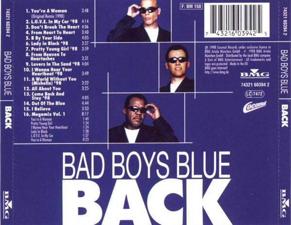 BAD BOYS BLUE R-101411