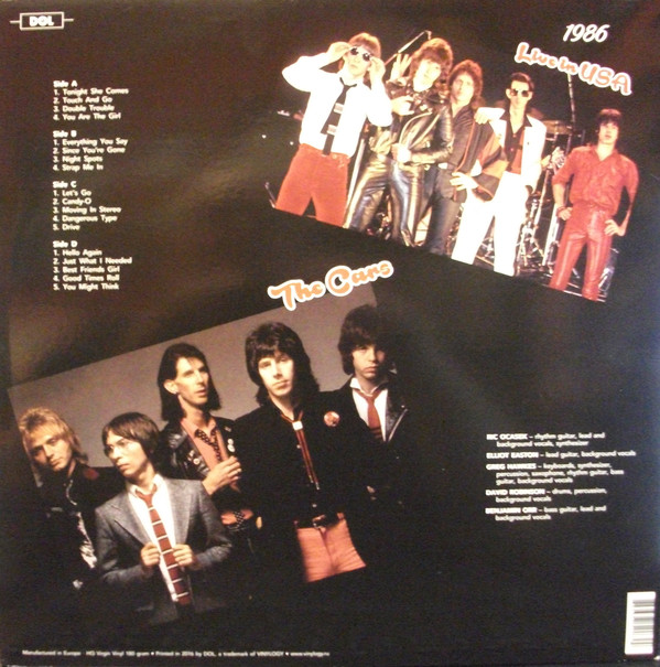 THE CARS (RIC OCASEK, BEN ORR, ELLIOT EASTON, GREG HAWKES) R-101511