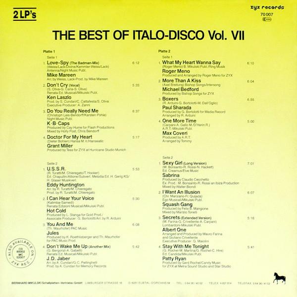 THE BEST OF ITALO DISCO R-153711