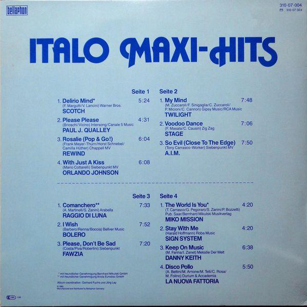 THE BEST OF ITALO DISCO R-510311