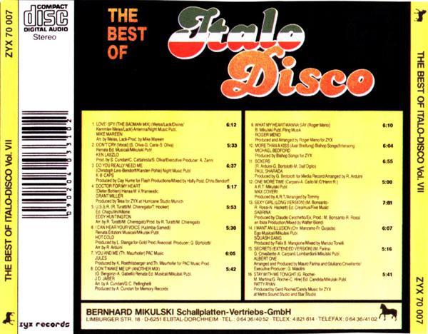 THE BEST OF ITALO DISCO R-992910