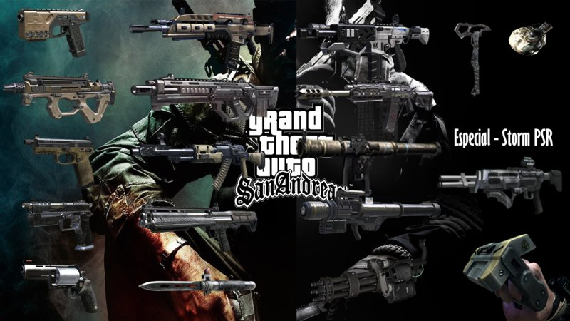 call of duty black ops weaps for samp