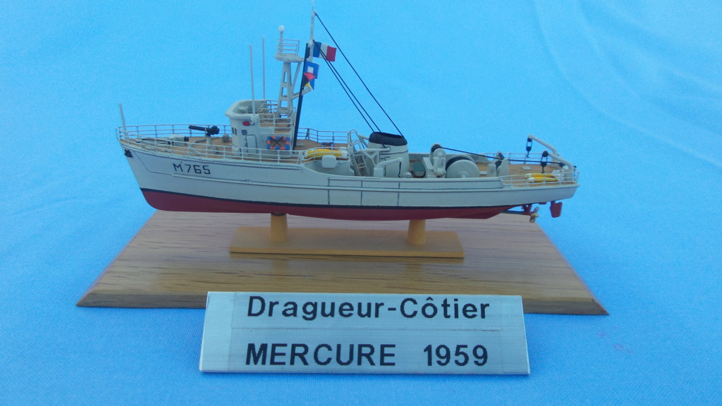 Dragueur MERCURE 1/400ème Ref 20120263