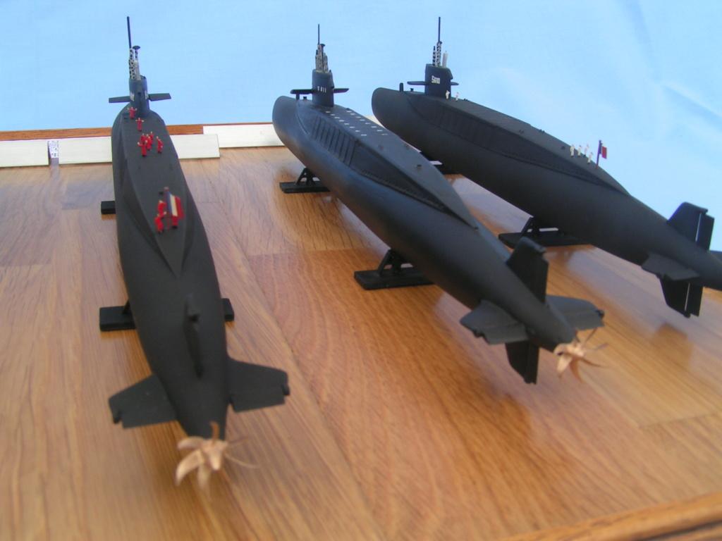 Les sous-marins nucléaire lanceur d engins SNLE de la classe REDOUTABLE Pict0021