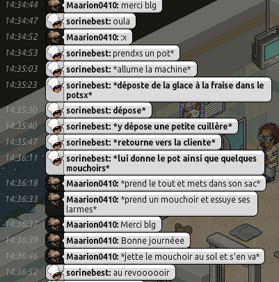 [R.] Rapports d'actions RP de sorinebest  - Page 5 224