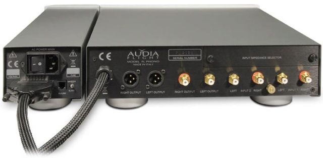 Audia Flight Phono Preamplifier (MM and MC) Back110