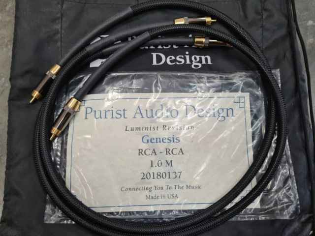 PAD Genesis RCA to RCA Interconnect Cables Luminist Revision (1m) (SOLD) Whats192