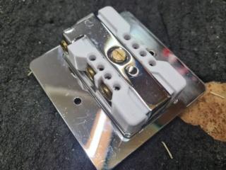 Palic Platinum US wall socket Whats207