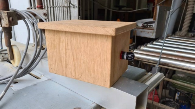DIY solid oak ground box Whats216