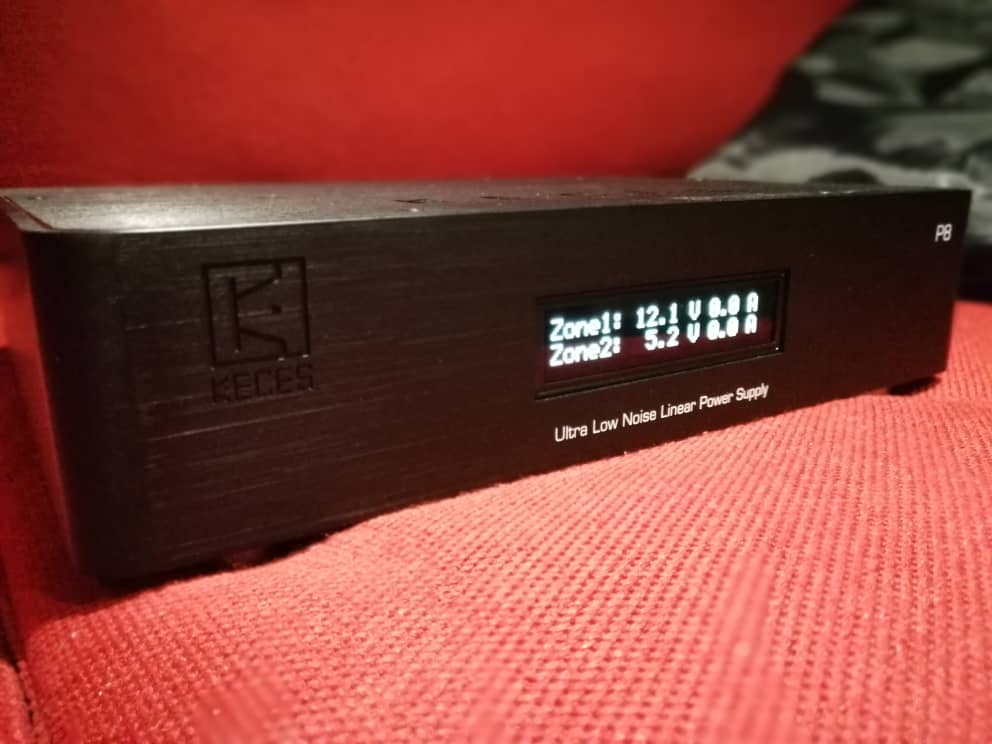 Keces P8 8A Ultra Low Noise Linear Power Supply(SOLD) Whatsa42