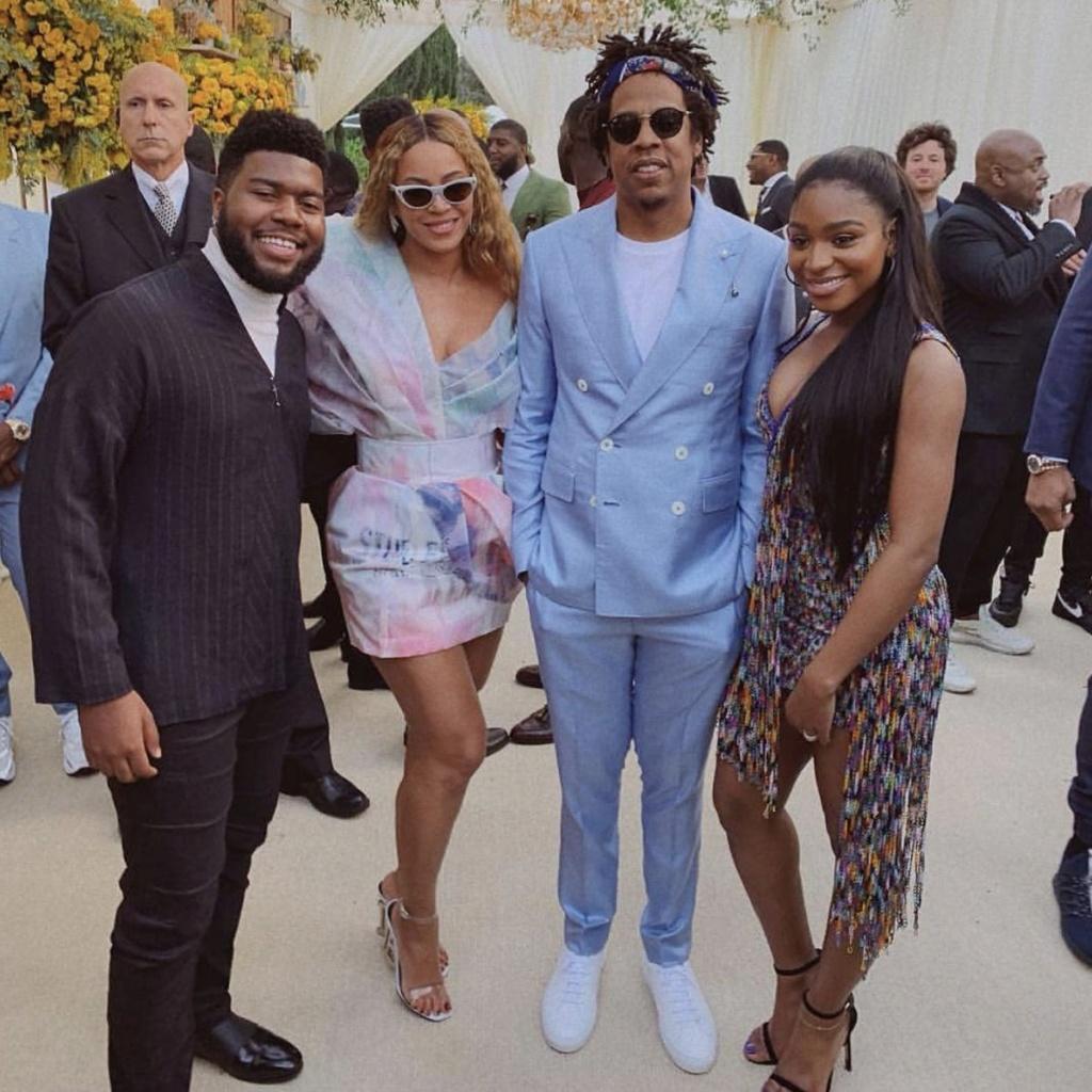 Beyoncé e Jay-Z fazem festa pré-Grammy e convida Khalid e Normani  Img_2012
