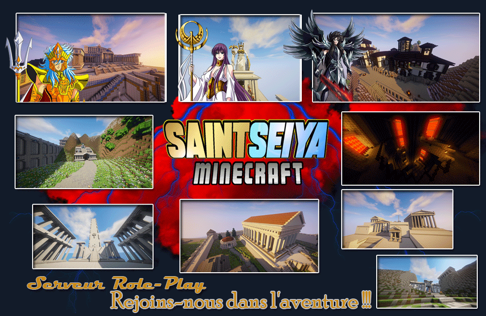 Saint Seiya Minecraft