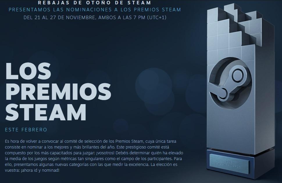 Los Premios de Steam 110