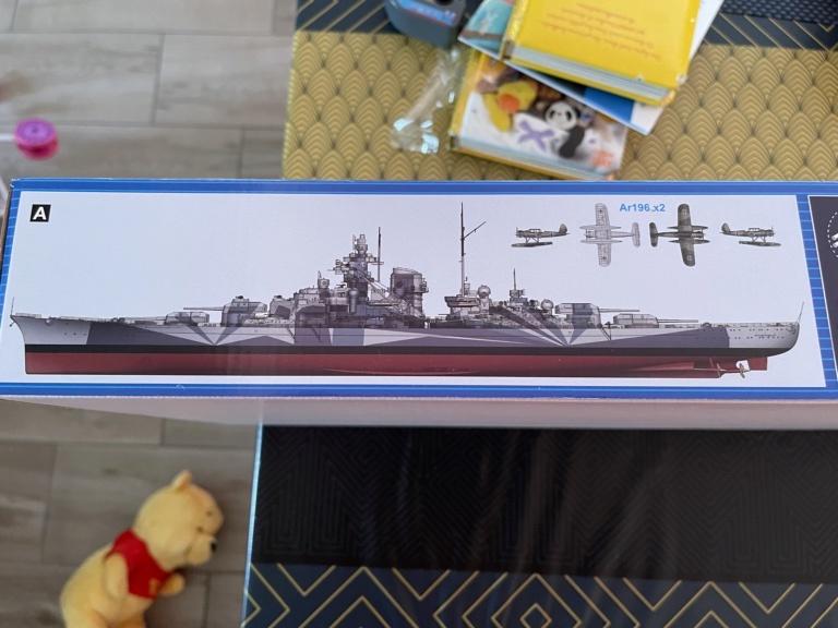 Cuirassé Tirpitz (Trumpeter 1/350°) de Nyms 115