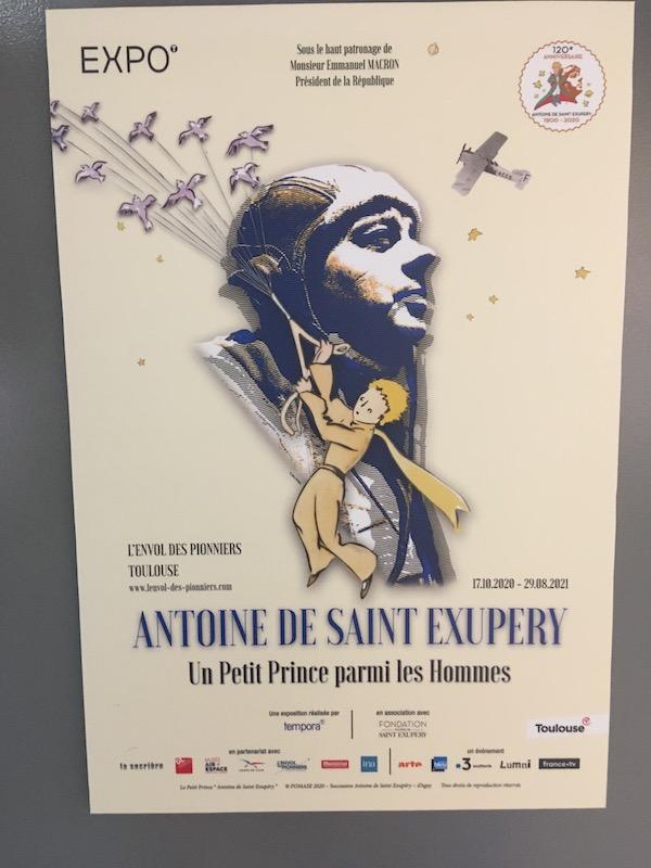 L'Envol des Pionniers Toulouse : Expo Saint Exupéry 1_affi10