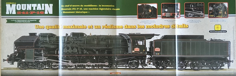Locomotive Mountain 241-P (Altaya 1/32°) 7_depl10