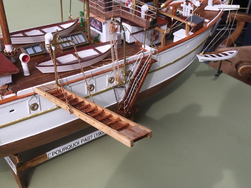 3-Mâts barque Pourquoi Pas? - 1) Coque & pont (Billing Boats 1/75°) par Yves31 - Page 39 831_co10