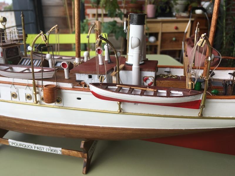3-Mâts barque Pourquoi Pas? - 1) Coque & pont (Billing Boats 1/75°) par Yves31 - Page 39 832_ch10