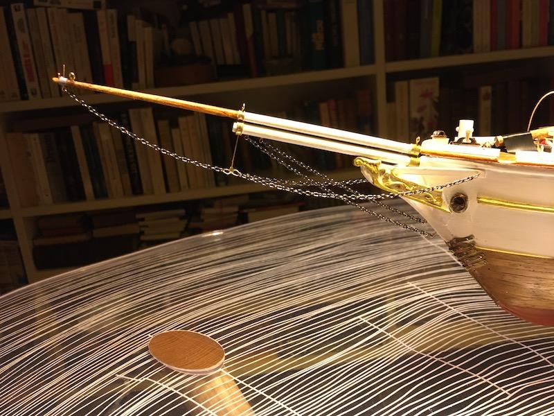 3-Mâts barque Pourquoi Pas? - 1) Coque & pont (Billing Boats 1/75°) par Yves31 - Page 39 837_be10