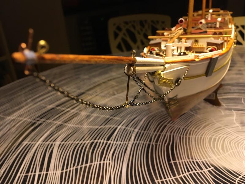 3-Mâts barque Pourquoi Pas? - 1) Coque & pont (Billing Boats 1/75°) par Yves31 - Page 39 838_be10