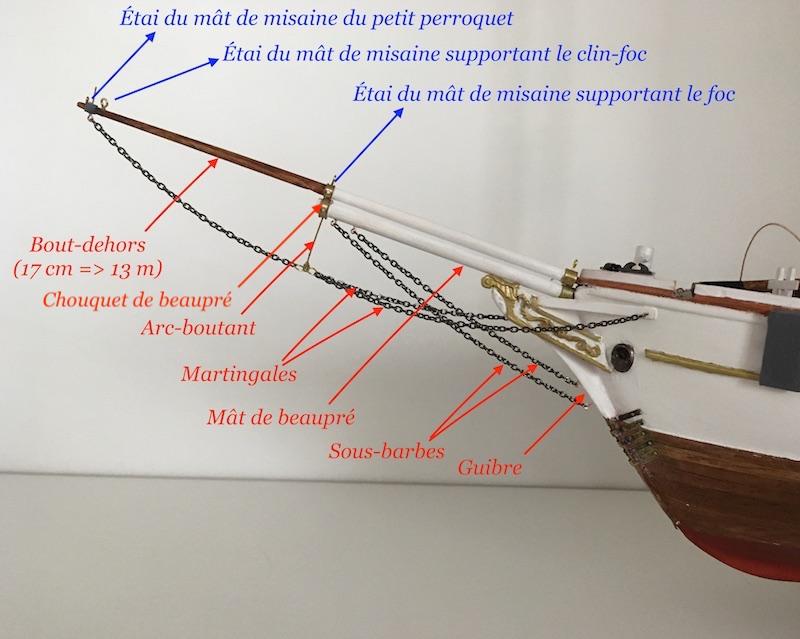 3-Mâts barque Pourquoi Pas? - 1) Coque & pont (Billing Boats 1/75°) par Yves31 - Page 39 840_be11